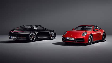 The New 2021 Porsche 911 Targa 4 and 4S Return With All of