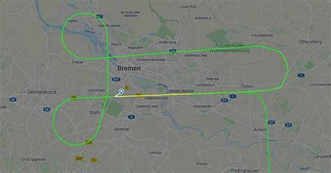 Lufthansa Pilot Draws Penis In The Sky Above Germany As