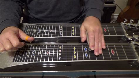 Silent Night Pedal Steel Guitar Song - YouTube
