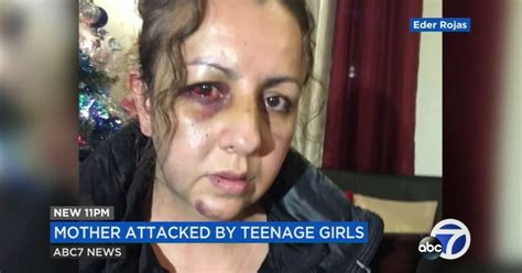 Mom attacked by teens as she walked into school to discuss