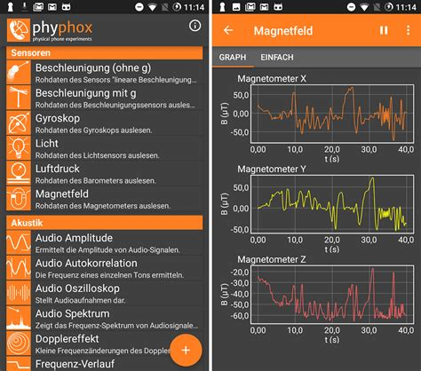 phyphox - Android App - Download - CHIP