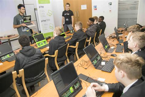 RS shows children how to build a Raspberry Pi laptop