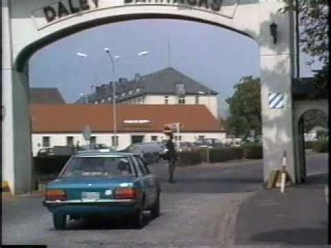 2nd 11 ACR 1990 Tour of Daley Barracks - YouTube