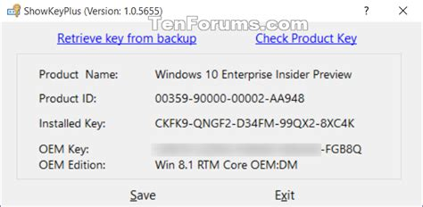 Product Key Number for Windows 7 - Find and See - Windows