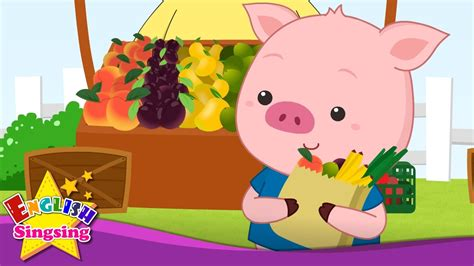 This Little Piggy - This Little Pig - Finger play - Animal