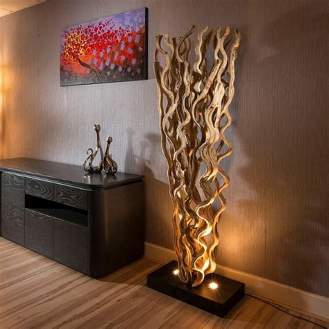 15 Amazing Driftwood Floor Lamps That Will Make You Say WOW