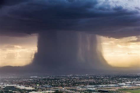 The rare weather phenomenon that produced a giant mushroom