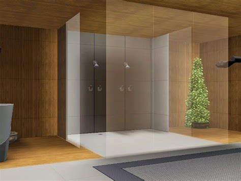 My Sims 3 Blog: Theo Shower and Glass Wall by