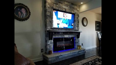 New Fireplace and T