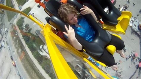 Riding at Mach 3 on the new Red River Ex ride - YouTube
