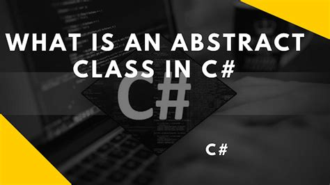 What is an abstract class in c# ~ Programming With Shri
