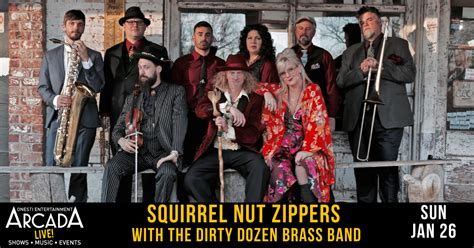 Squirrel Nut Zippers with The Dirty Dozen Brass Band