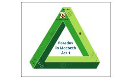 Paradox in Macbeth Act 1 by Nissi Jacobson on Prezi