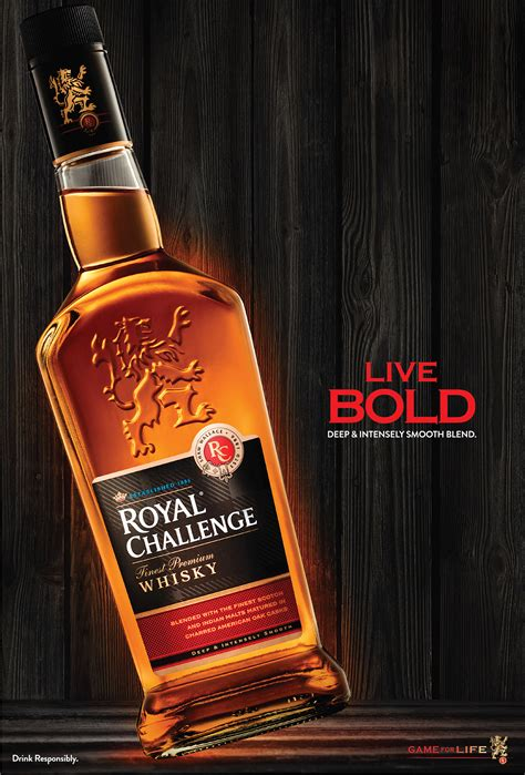 Royal Challenge Whisky (Product Campaign 2015) on Behance