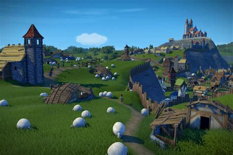 Medieval city-builder Foundation is a welcome escape from