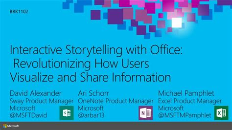 Interactive Storytelling with Office: Revolutionizing How