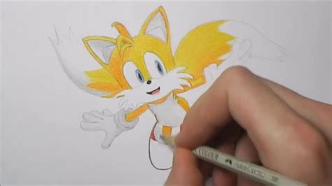 """How to Draw Miles """"Tails"""" Prower - YouTube"""