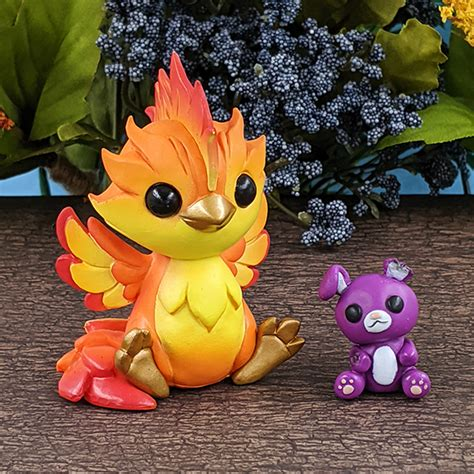 Ember the Phoenix | Dragons and Beasties