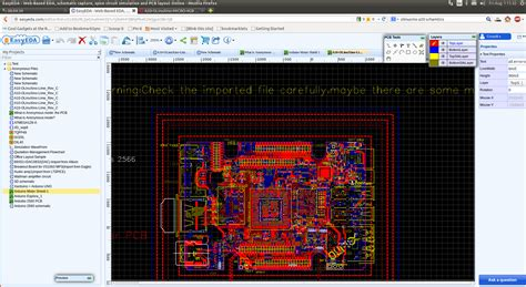 EasyEDA is a Web-based Schematics Capture, Simulation, and