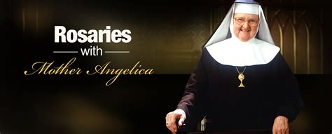 The Holy Rosary With Mother Angelica   EWTN