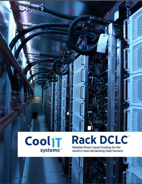 CoolIT Systems to Showcase Liquid Cooling Technology at