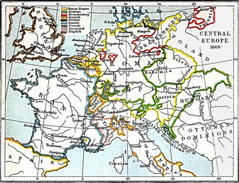 Maps of Central Europe 980 A