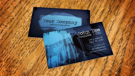 How to Create a Business Card Mockup Using Smart Objects