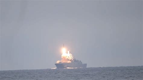 Mach 8! Russian warship makes history by launching