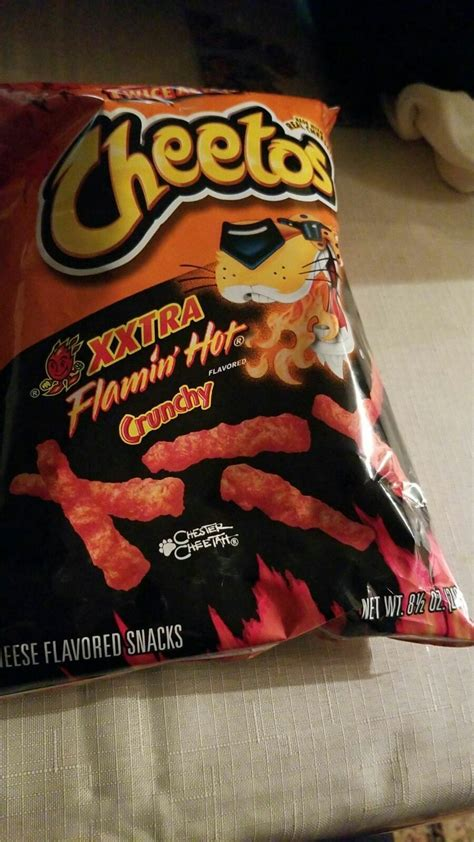 Cheetos xxtra flamin hot crunchy chips are not halal or