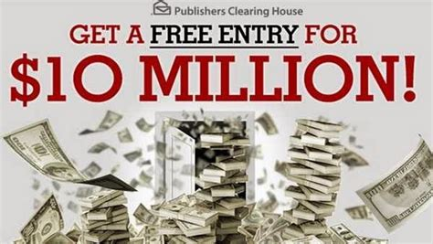 Win $10 Million in PCH Giveaway Sweepstakes No