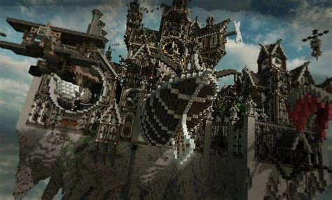 Blackwind Metropolis A City in the Sky – Minecraft