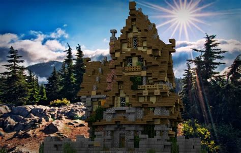 Two Story Medieval House – Minecraft House Design