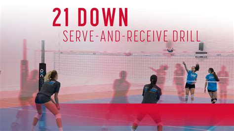 21 down serve-and-receive drill | The Art of Coaching
