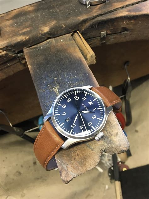 Stowa: Flieger Blue Limited   Watchtime