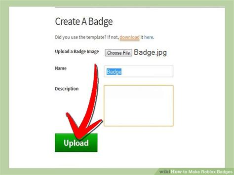 How to Make Roblox Badges (with Pictures) - wikiHow