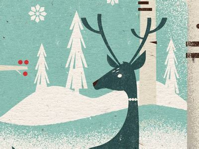 Holiday illo by Mike Dornseif on Dribbble