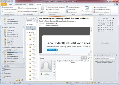 Microsoft Outlook Hotmail Connector Download – kostenlos