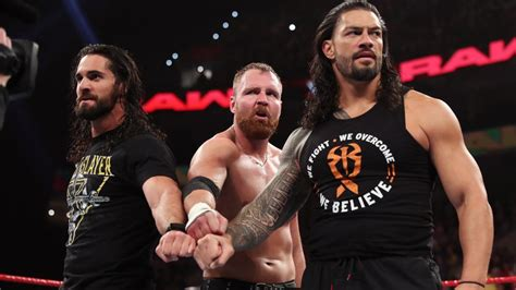 Roman Reigns, Seth Rollins and Dean Ambrose reunite as The